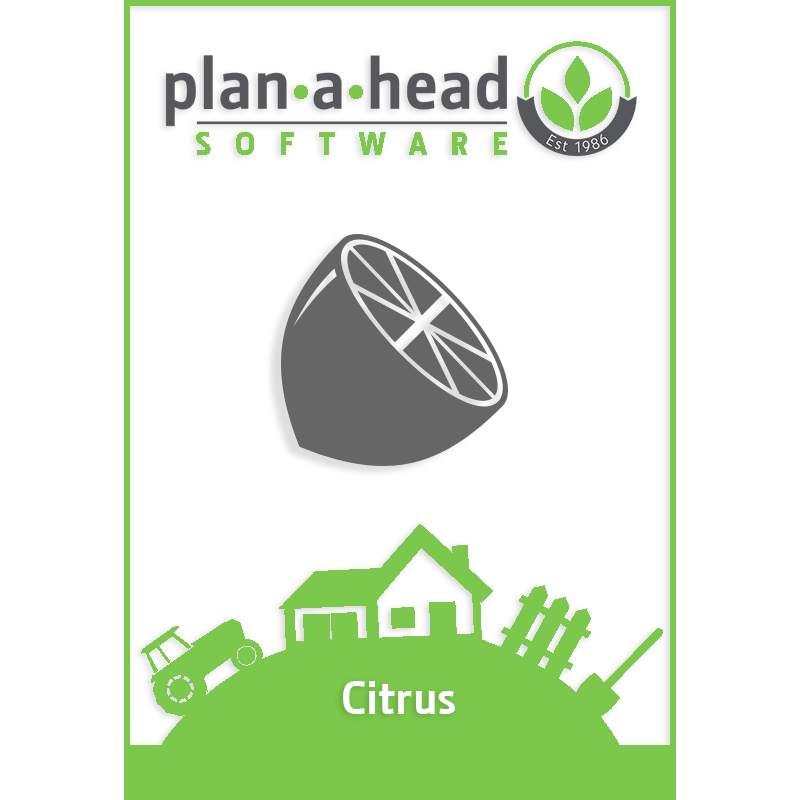 Plan-A-Head Citrus Software