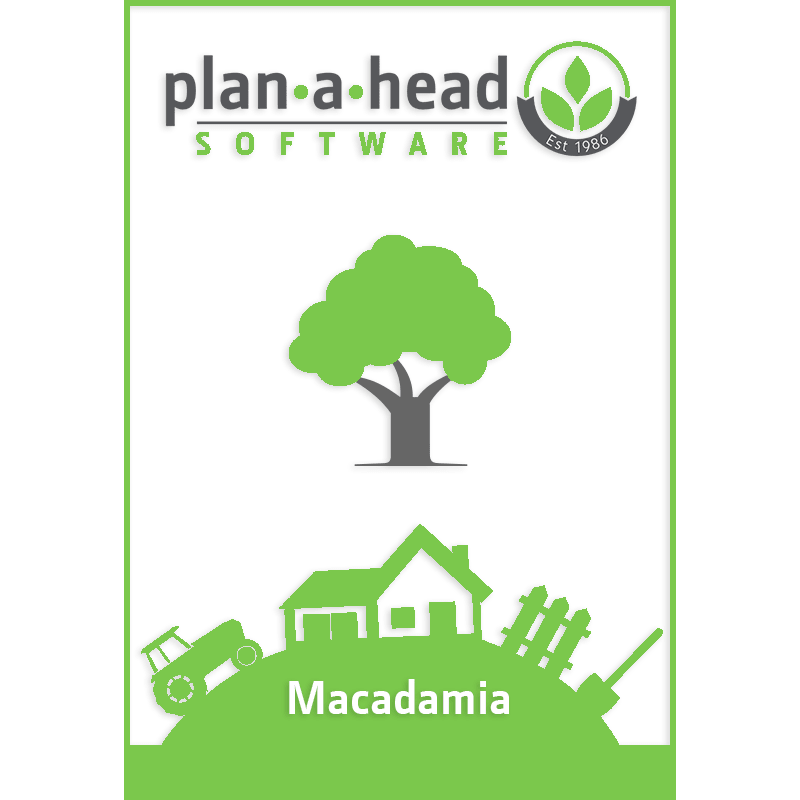 Plan-A-Head Macadamia Software