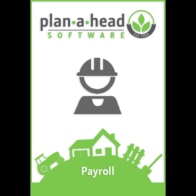 Plan-A-Head Payroll Software
