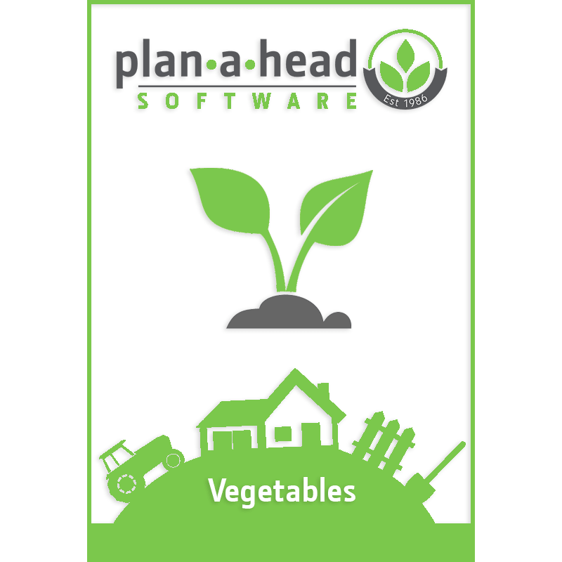 Plan-A-Head Vegetable Software